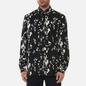 Мужская рубашка Fred Perry Monochrome Abstract Black фото - 2