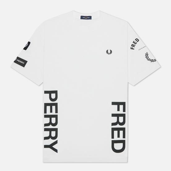 Мужская футболка Fred Perry Bold Branding White