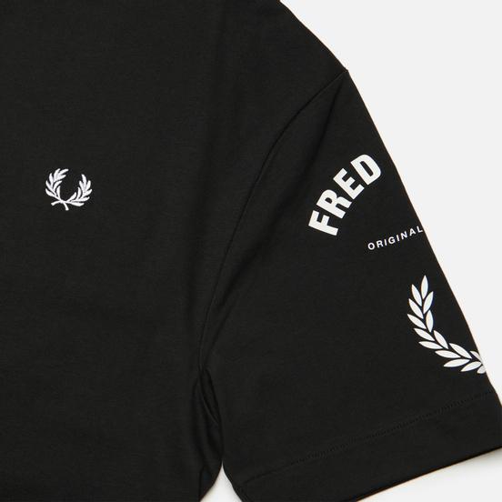 Мужская футболка Fred Perry Bold Branding Black
