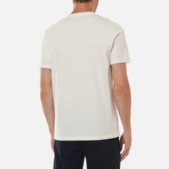 Мужская футболка Fred Perry Print Registration Snow White