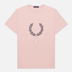 Мужская футболка Fred Perry Print Registration Chalky Pink