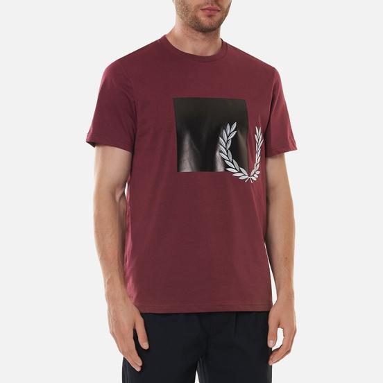 Мужская футболка Fred Perry Tonal Graphic Mahogany