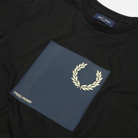 Мужская футболка Fred Perry Laurel Wreath Graphic Black
