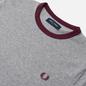 Мужская футболка Fred Perry Ringer Steel Marl фото - 1