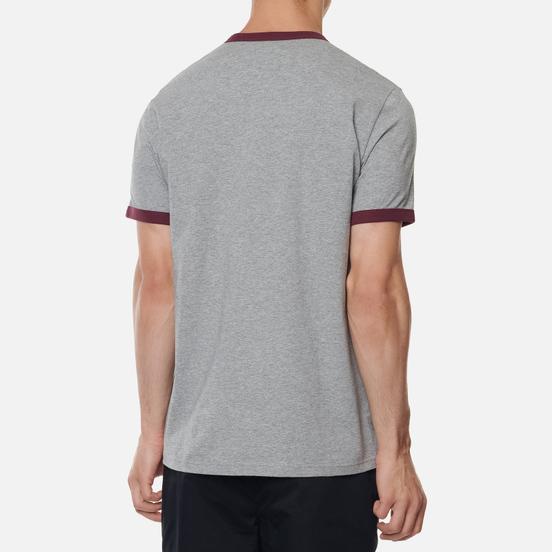 Мужская футболка Fred Perry Ringer Steel Marl