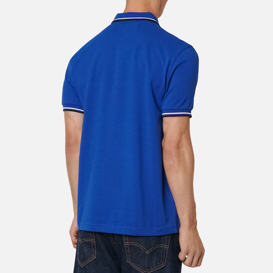 Мужское поло Fred Perry M3600 Twin Tipped Cobalt/White/Black
