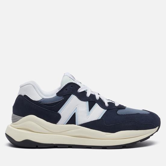 Мужские кроссовки New Balance 57/40 Team Navy/Munsell White