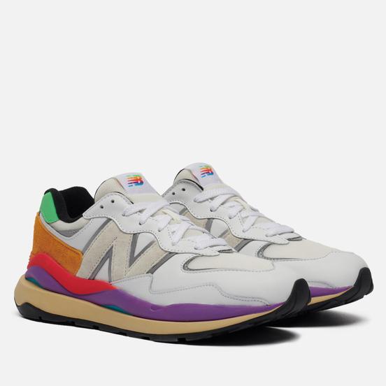 Мужские кроссовки New Balance M5740LA White/Purple