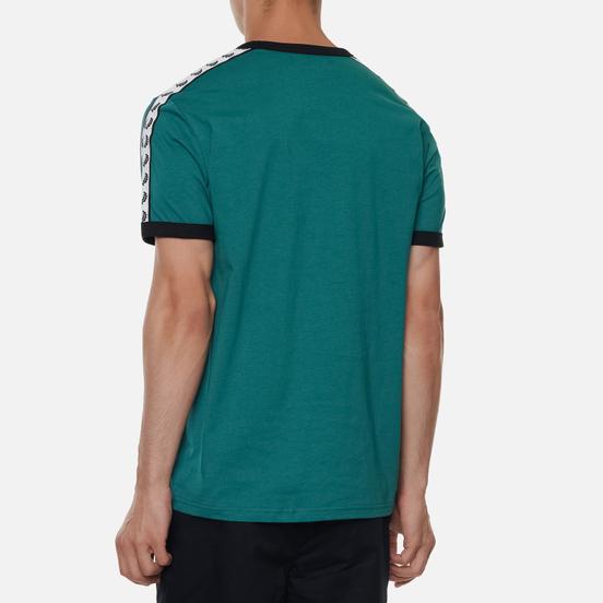 Мужская футболка Fred Perry Taped Ringer Light Petrol