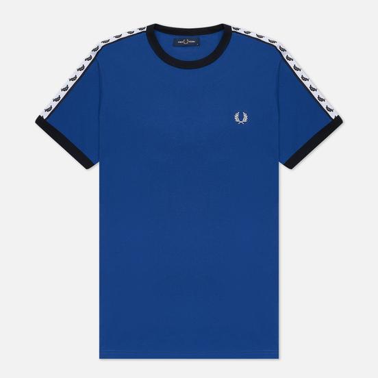 Мужская футболка Fred Perry Taped Ringer Nautical Blue