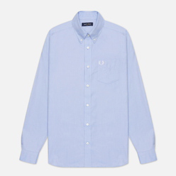 Мужская рубашка Fred Perry Oxford Light Smoke