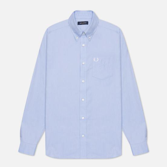 Мужская рубашка Fred Perry Oxford Light Smoke