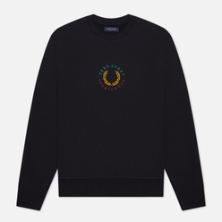 Мужская толстовка Fred Perry Modernist Streetwear Global Branded Navy