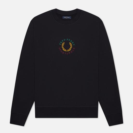 Мужская толстовка Fred Perry Modernist Streetwear Global Branded Navy