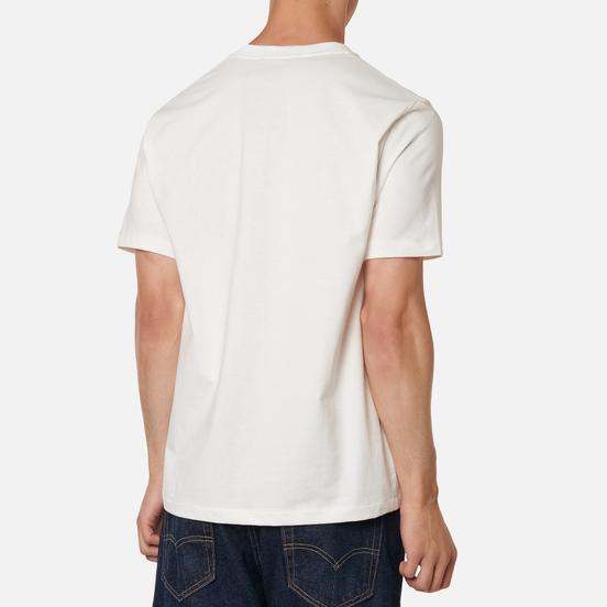 Мужская футболка Fred Perry Colour Block Graphic Snow White