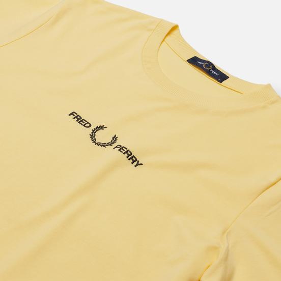 Мужская футболка Fred Perry Colour Block Graphic Daffodil