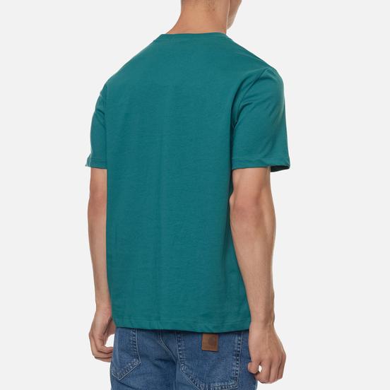 Мужская футболка Fred Perry Colour Block Graphic Light Petrol