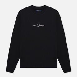Мужская толстовка Fred Perry Colour Block Graphic Black