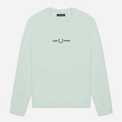 Мужская толстовка Fred Perry Colour Block Graphic Misty Jade