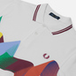 Мужское поло Fred Perry Abstract Sport White фото - 1