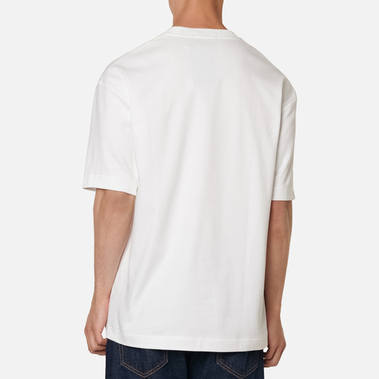 Мужская футболка Fred Perry Abstract Sport White