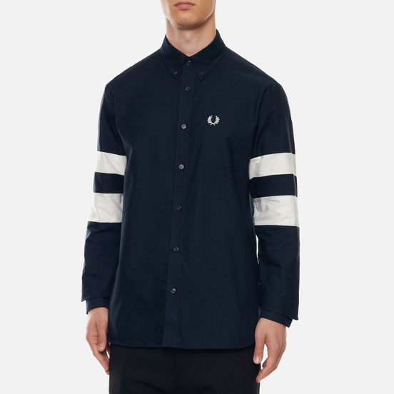 Мужская рубашка Fred Perry Twin Tipped Navy