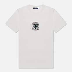 Мужская футболка Fred Perry Embroidered Sheild Snow White