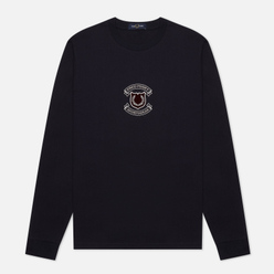 Мужской лонгслив Fred Perry LS Shield Navy