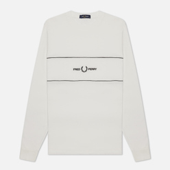 Мужской лонгслив Fred Perry Embroidered Panel Snow White