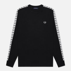 Мужской лонгслив Fred Perry LS Taped Black
