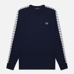 Мужской лонгслив Fred Perry LS Taped Carbon Blue