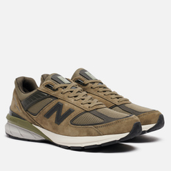 Мужские кроссовки New Balance 990v5 Covert Green/Camo Green
