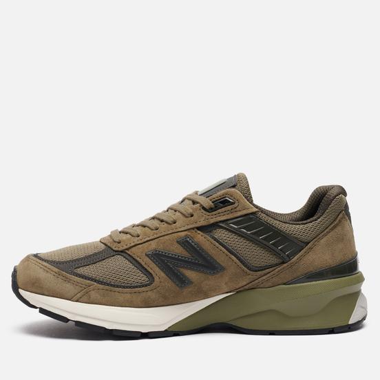 Мужские кроссовки New Balance 990v5 Covert Green/Camo Green