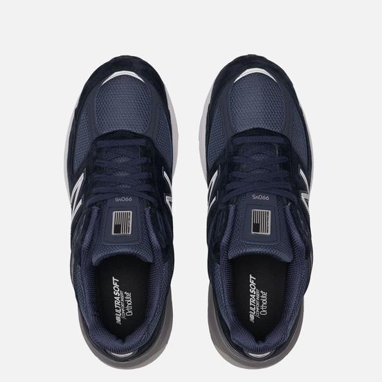 Мужские кроссовки New Balance 990v5 Navy/Silver