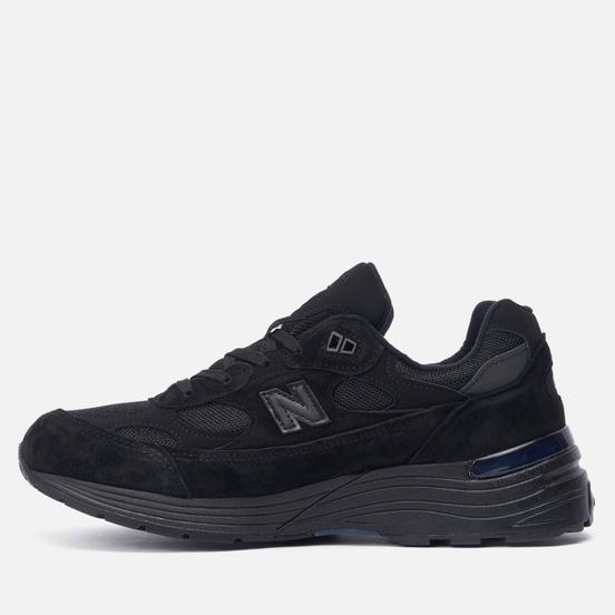 Мужские кроссовки New Balance M992EA Black/Black