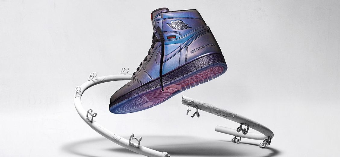 "Air Jordan 1 High ""Zoom Fearless"": игра цветов"