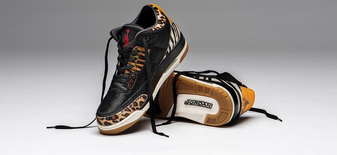 "Air Jordan 3 ""Animal Instinct"": личная саванна"