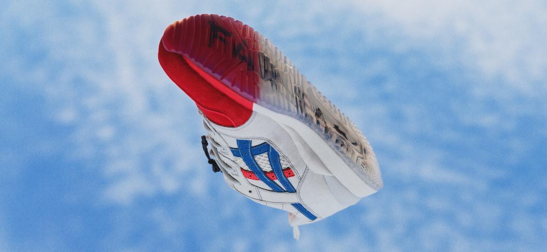 ASICS × mita sneakers: восходящее солнце