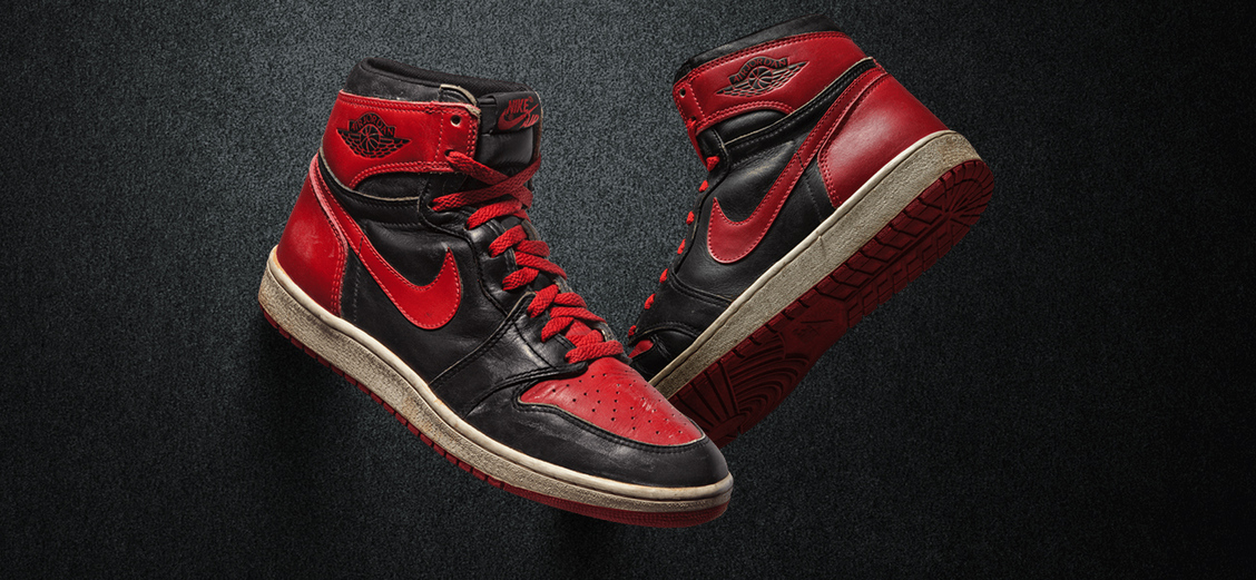 Эволюция кроссовок Air Jordan 1