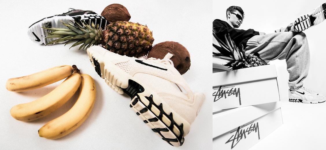 Nike × Stussy: спортивный стиль Штатов