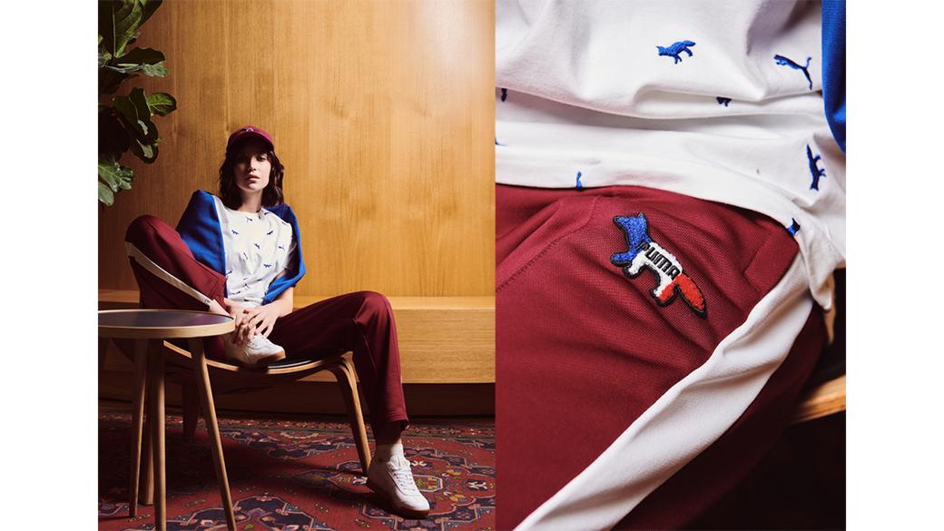 PUMA x Maison Kitsune: первая совместная коллекция