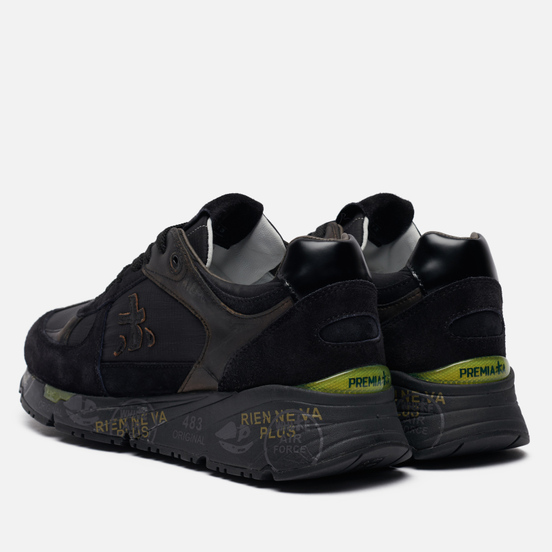 Мужские кроссовки Premiata Mase 5013 Black