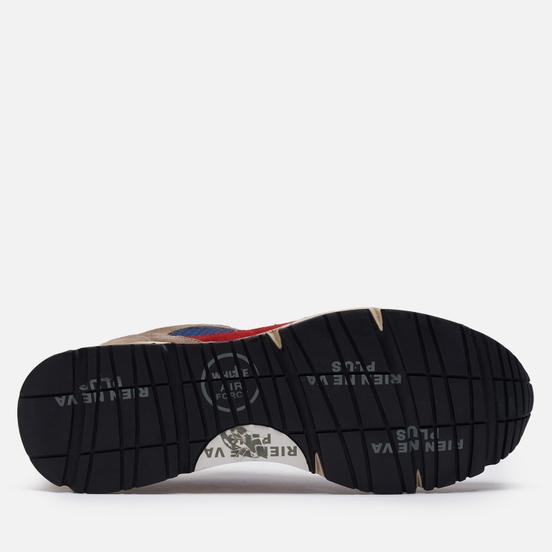 Мужские кроссовки Premiata Mase 5169 Grey/Navy/Red