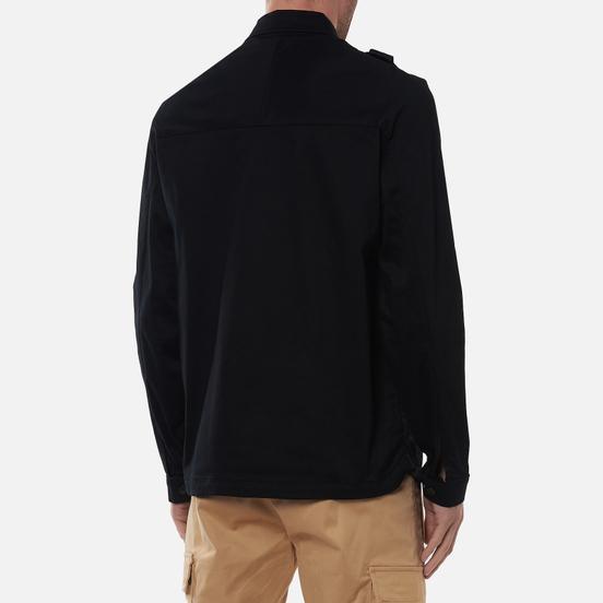 Мужская рубашка MA.Strum Zip-Through Overshirt Jet Black
