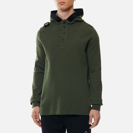 Мужская толстовка MA.Strum Double Face Pique Overhead Hoody Oil Slick