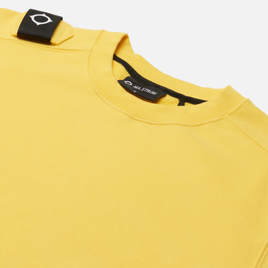 Мужская толстовка MA.Strum Core Crew Neck Citrus Yellow
