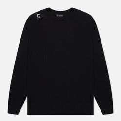 Мужской свитер MA.Strum Milano Knit Crew Neck Jet Black