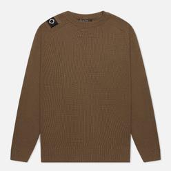 Мужской свитер MA.Strum Milano Knit Crew Neck Timber Wolf