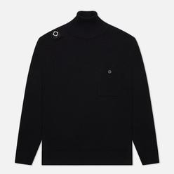 Мужской свитер MA.Strum Milano Knit Roll Neck Jet Black