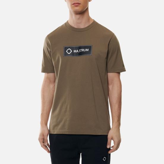 Мужская футболка MA.Strum Icon Box Logo Timber Wolf
